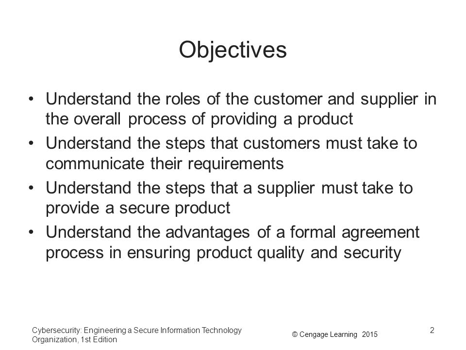 Chapter 2 The Agreement Processes Ppt