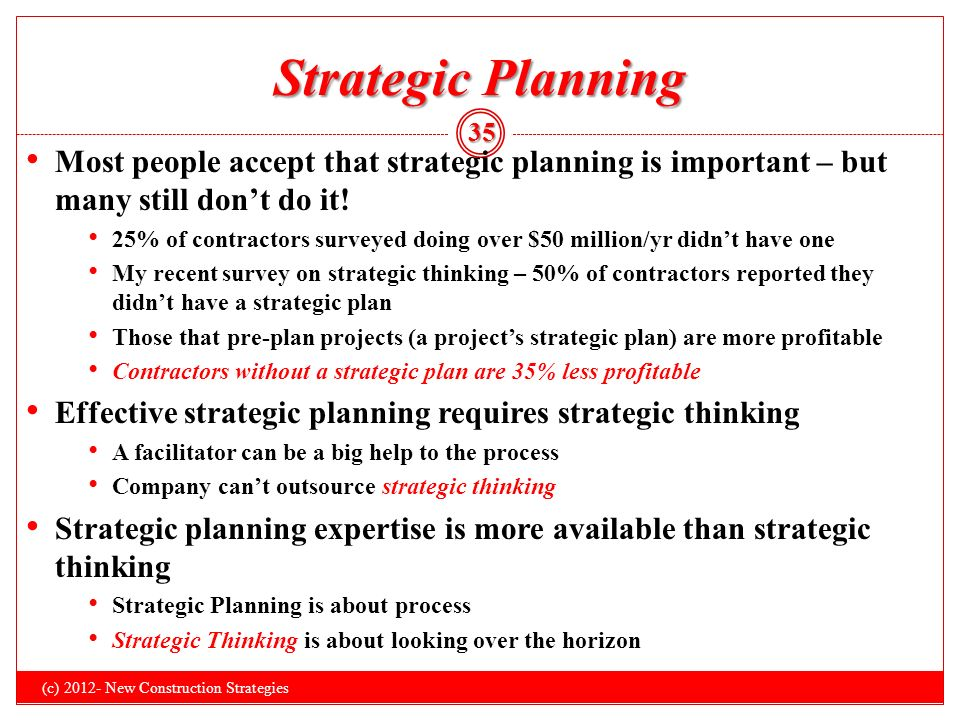 how did strategic planning help during A practical guide to strategic planning in higher education  serious scrutiny during their reaccreditation processes if they did not have a working strategic plan .