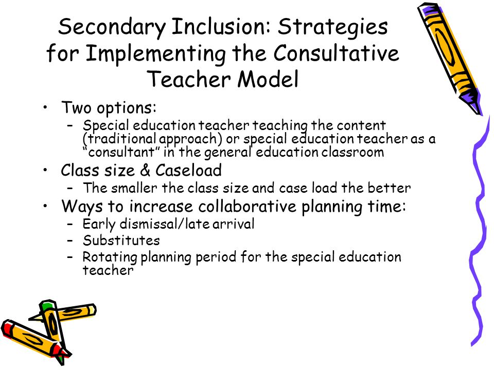Collaborative Teaching Strategies Inclusion Classroom ~ Secondary inclusion by courtney sayward ppt video