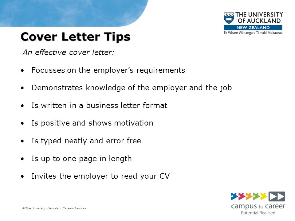 Preparing an effective cv and cover letter engineering for Tips for writing cover letters effectively