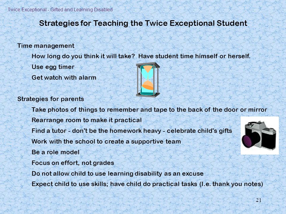 Twice Exceptional Gifted And Learning Disabled Ppt