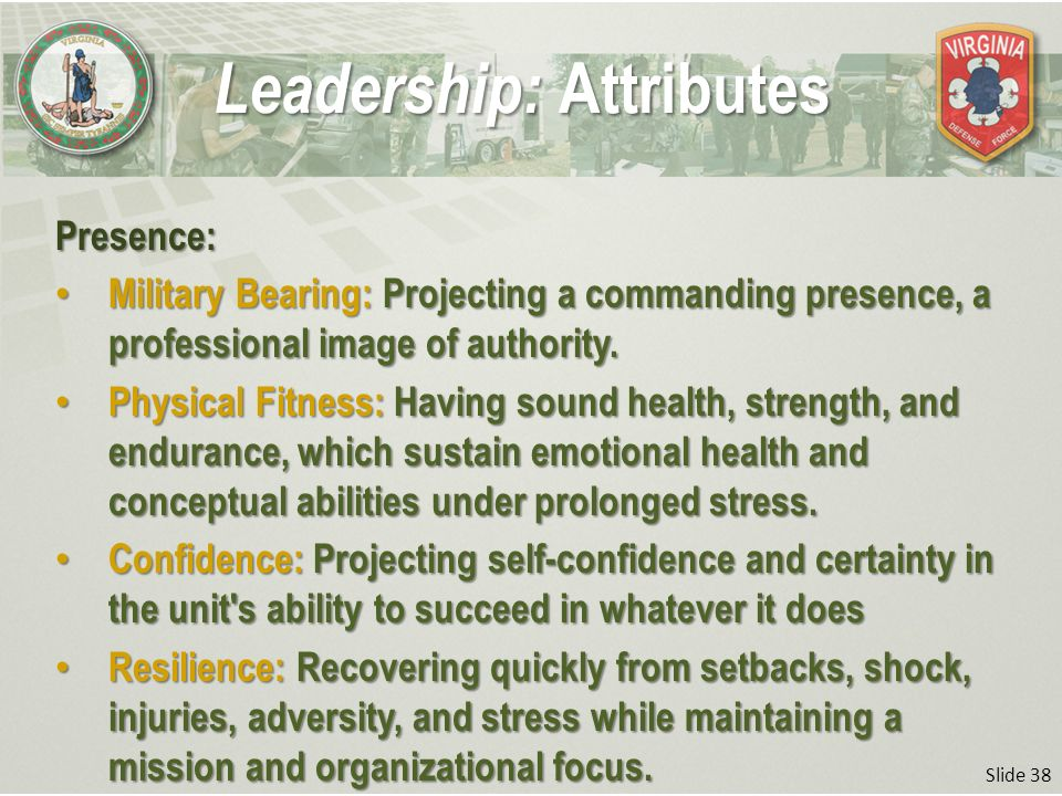 how to maintain professionalism and military bearing As cited in the military review article,  they must recognize who it is and maintain professionalism and bearing when dealing with the individual.