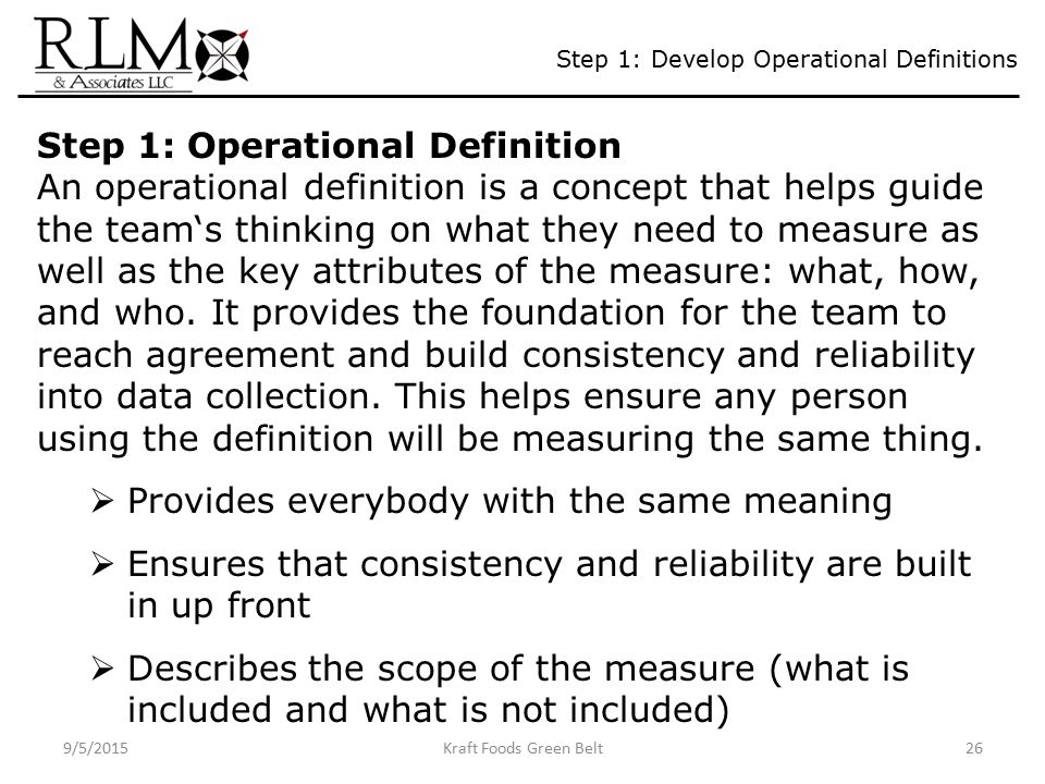 How to Write an Operational-Level Agreement