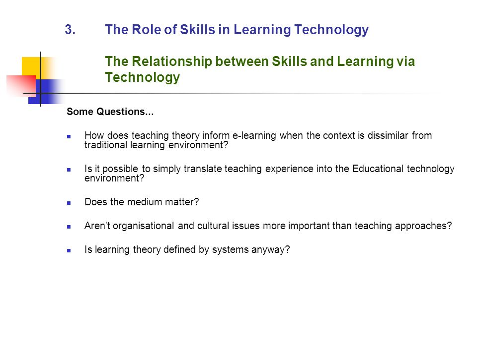 discuss the relationship between teaching and learning