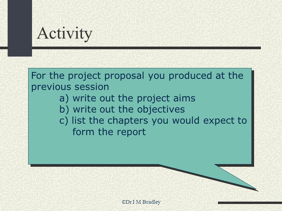 The Project Planning Process - Ppt Download