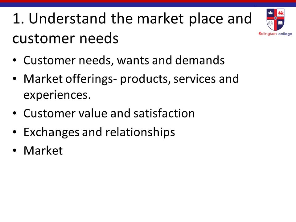 marketing needs wants and demands Compare and contrast customer needs wants and demands describe the need versus the want for the following products red bull drink nike trainers and apple ipod join consumer wants and needs marketing can be defined as what is done to produce, communicate.