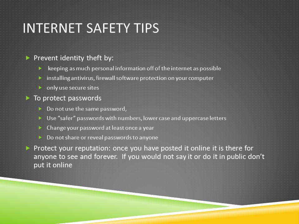 essay internet safety Internet safety and young children essays: over 180,000 internet safety and young children essays, internet safety and young children term papers, internet safety and.