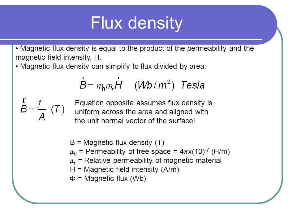 magnetic flux density formula - photo #6