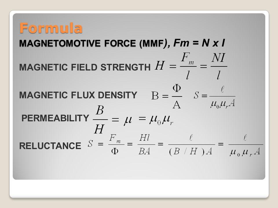 magnetic flux density formula - photo #3