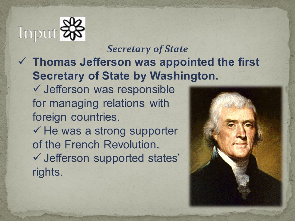 4 1 launching a new nation 4 2 the birth of political parties ppt download - Thomas jefferson term of office ...