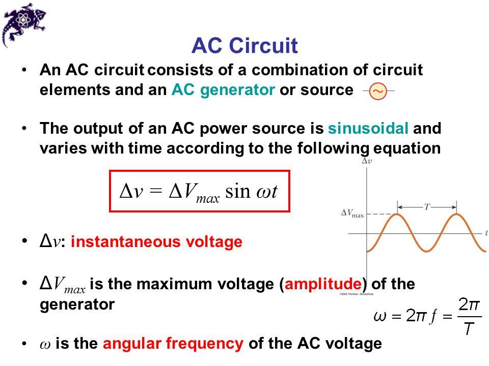 alternating current circuit. 2 ac alternating current circuit