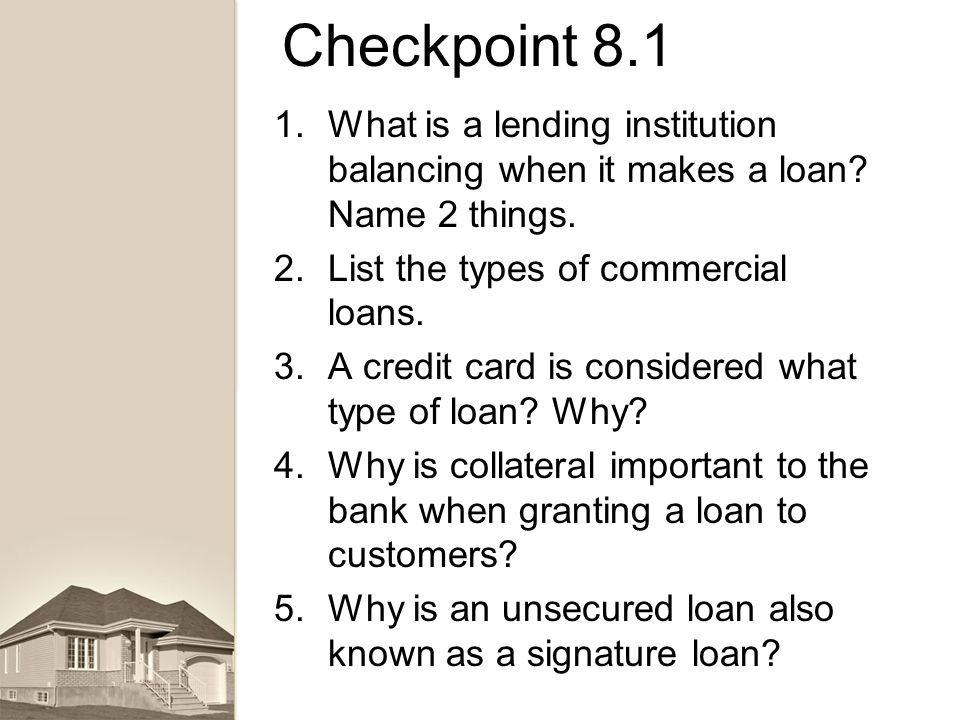 LENDING Banking & Finance. - ppt download