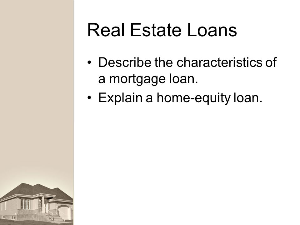 Lending banking finance ppt download for Land home mortgage
