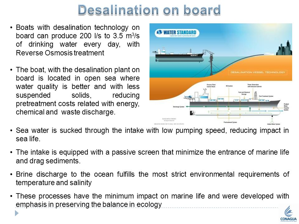 producing drinking water with desalination technology essay Water technology & innovation a pioneer in the area of water desalination of a 50 million/cm desalination plant in ashkelon for drinking water and domestic.