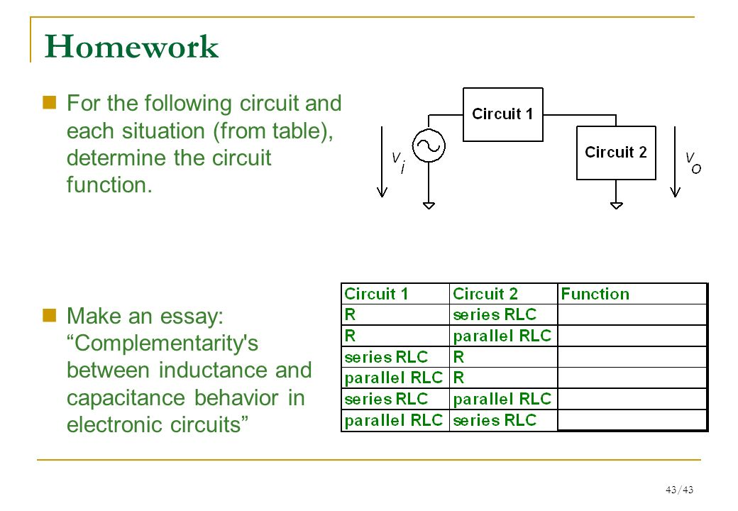 inductors essay Series and parallel circuits a series circuit with a  more than three inductors becomes more complex and the mutual inductance of each inductor on each other.