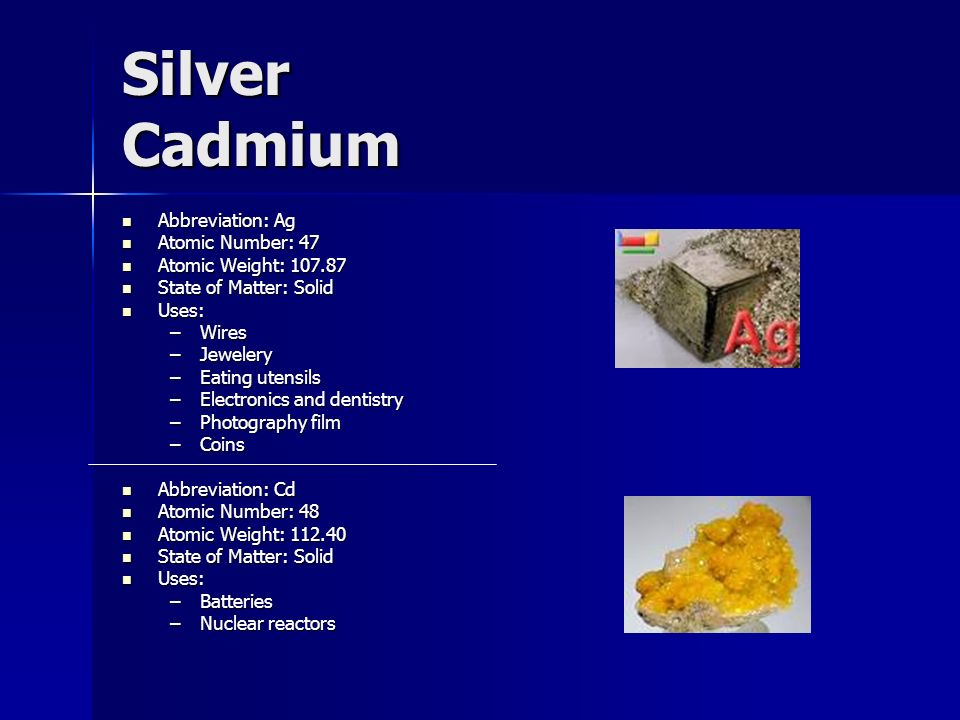 The periodic table of elements ppt video online download 82 silver urtaz Gallery