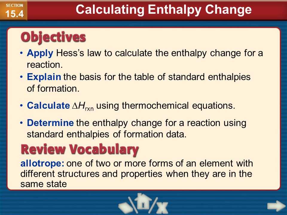 enthalpy of various reactions A chemical reaction is a process that leads to the the associated free energy of the reaction is composed of two different thermodynamic quantities, enthalpy and.