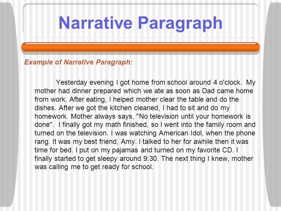 introduction paragraph to a narrative essay