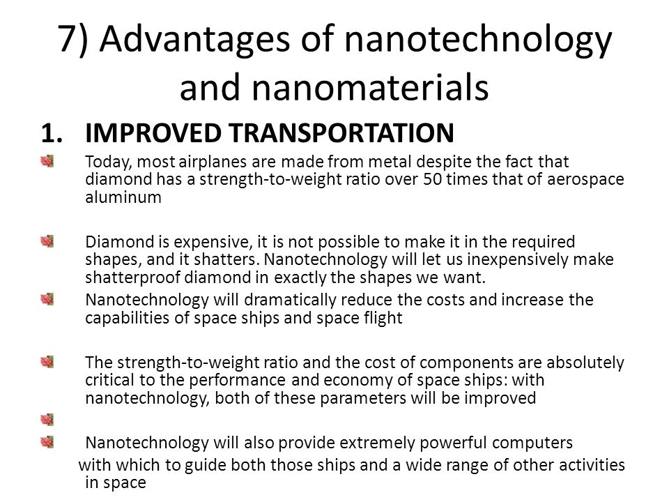 nanotechnology uses to enhance computer performance essay The impact of nanotechnology extends from its medical, ethical, mental, legal and environmental applications, to fields such as engineering, biology, chemistry, computing, materials science, and communications.