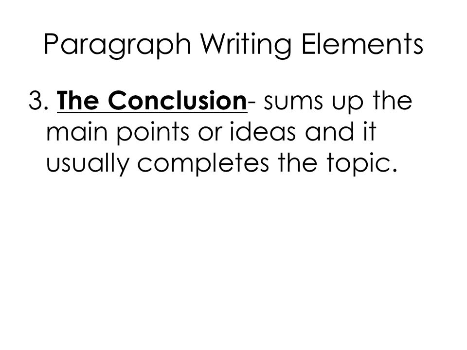 paragraph writing elementary Take your students through this exciting, step-by-step paragraph writing lesson students will have the opportunity to see a modeled writing.