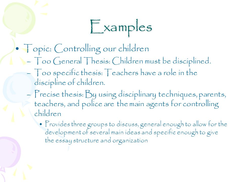 Childcare Essays (Examples)
