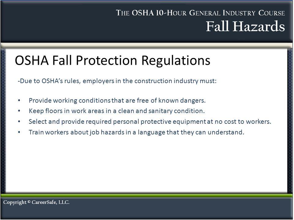 Fall Hazards Ppt Video Online Download