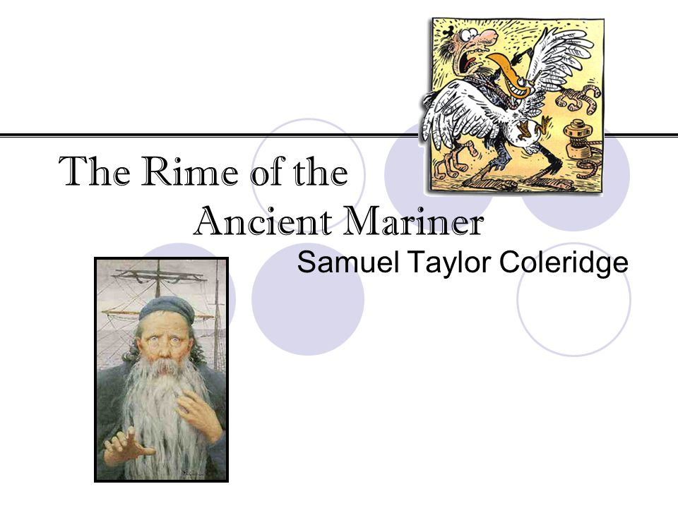 critical analysis the rime of the Need help with part i in samuel coleridge's the rime of the ancient mariner check out our revolutionary side-by-side summary and analysis.