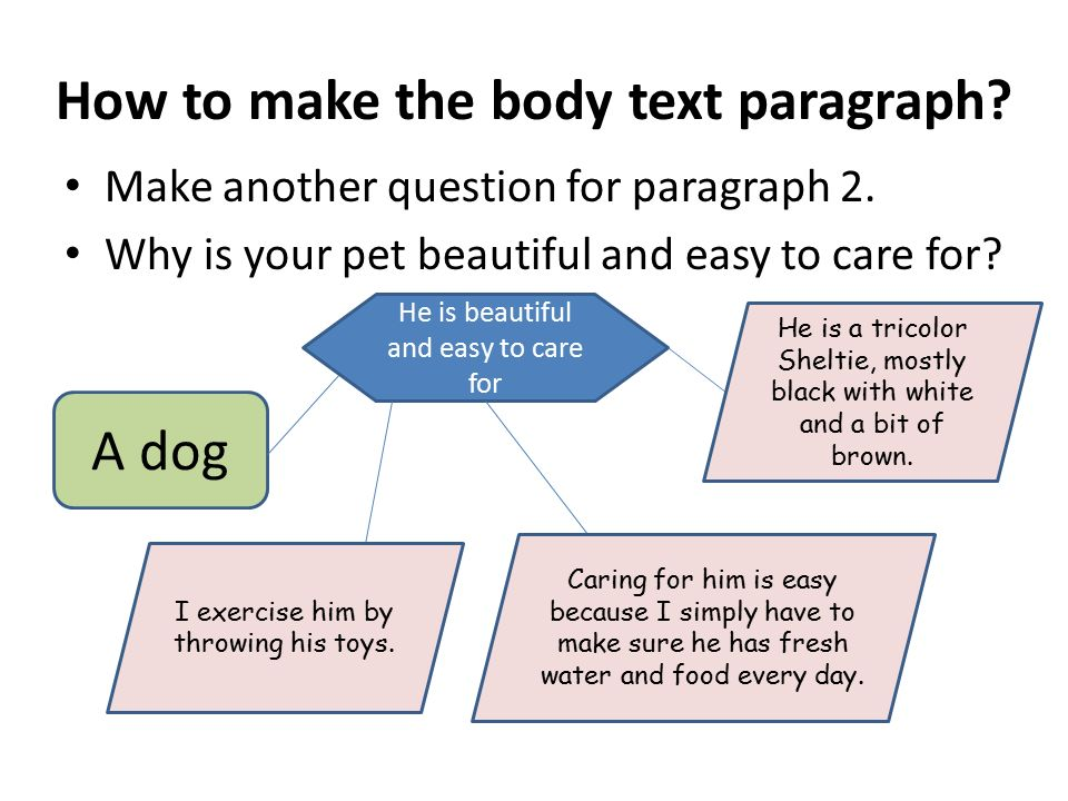 how to make an unprofessional paragraph