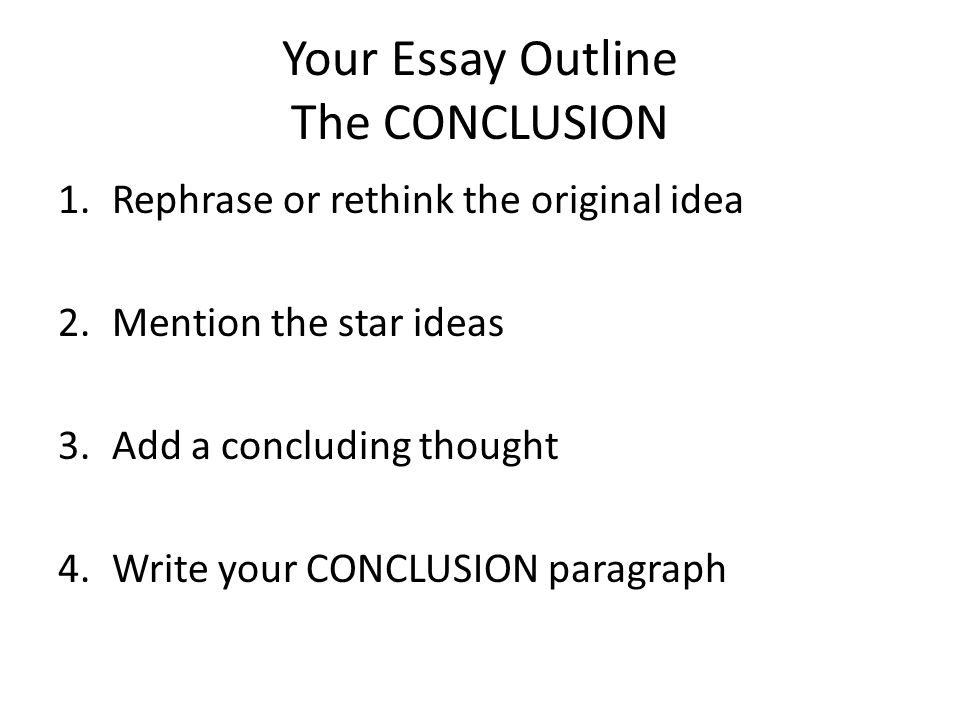 write essay conclusion paragraph 24 introduction and conclusion every essay or paper designed to be persuasive needs a paragraph at the very outset introducing how to write a conclusion.