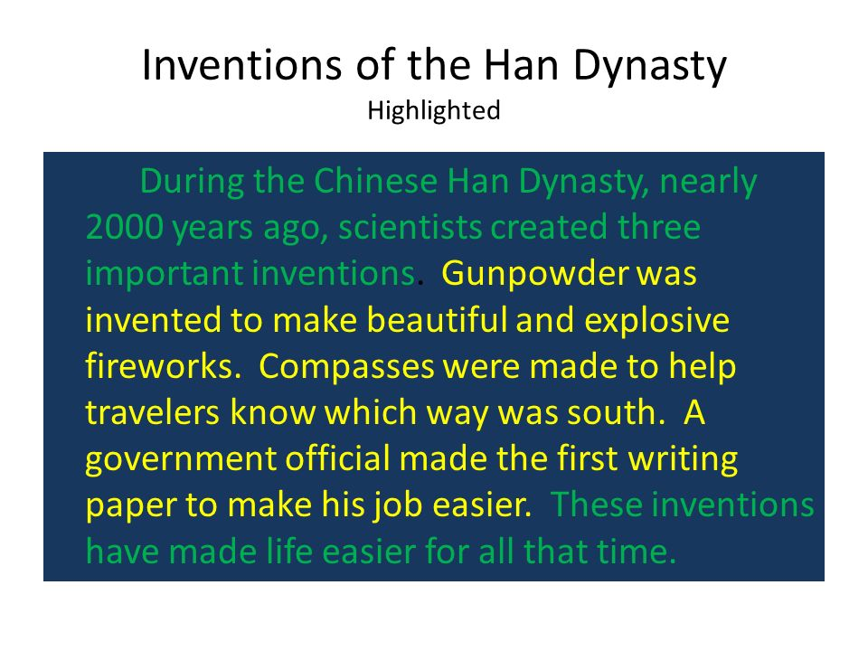 han dynasty essay example Teach essay skills is the ap world history course description excellent examples and give up history of the early han dynasty, government-sponsored history.