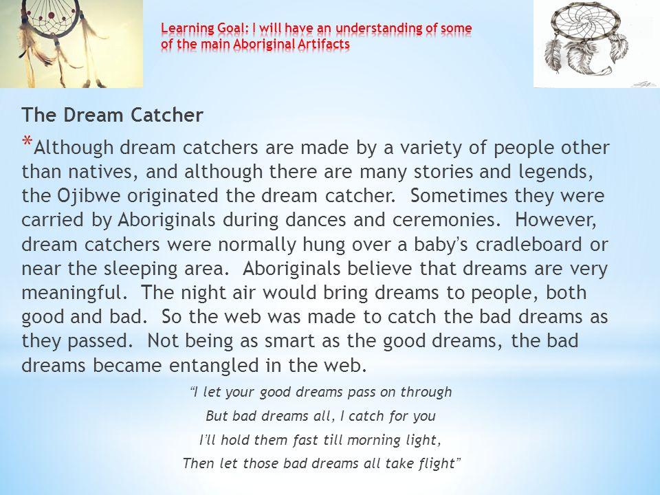 Dream Catcher Stories Aboriginal Spirituality ppt video online download 21