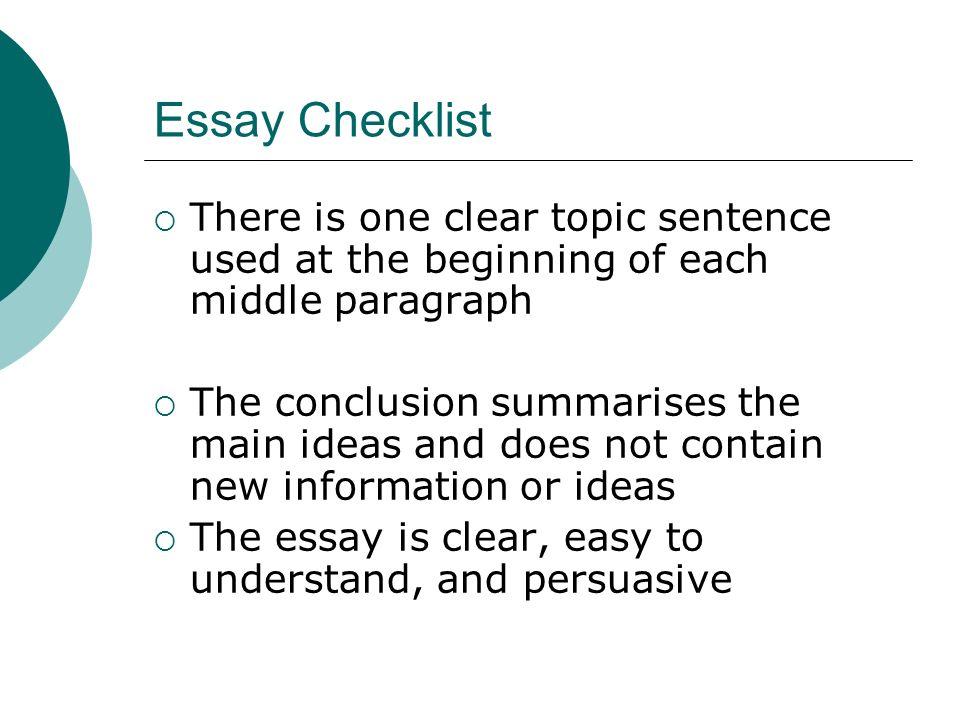 How to write an essay Level ppt download