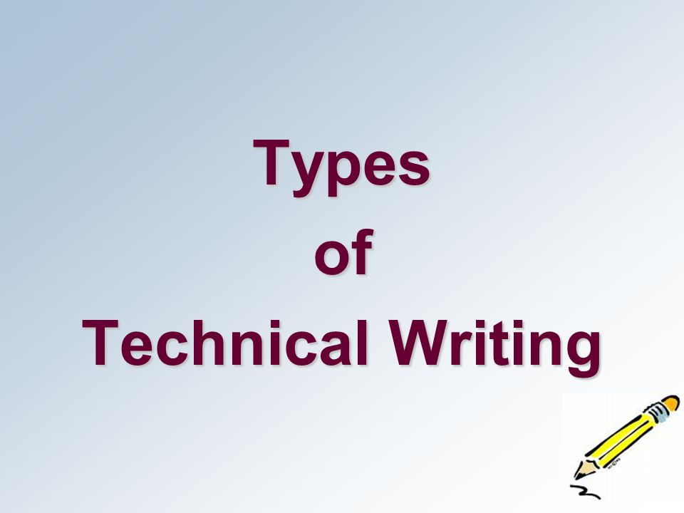 types of technical report writing Types of reports (a)informal report (b)formal report (c)feasibility report (d)technical and special report the informal report functions to inform, analyze, and recommend.