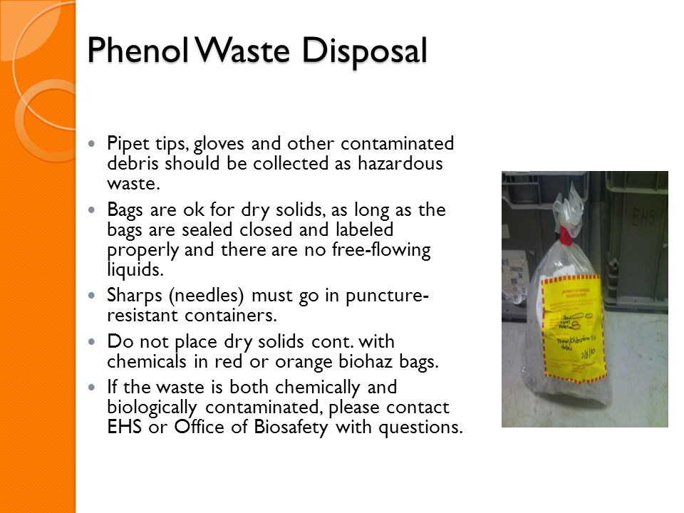 26 Phenol Waste Disposal