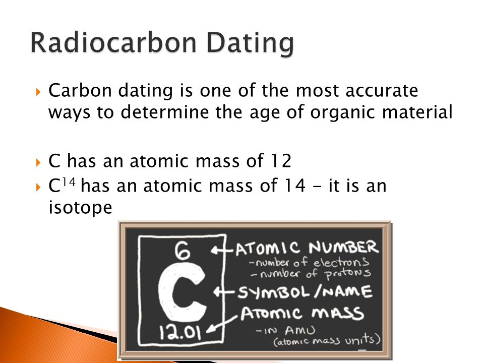 Carbon dating gcse