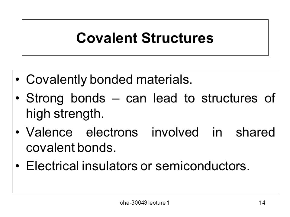 covalent structures electric motor It might surprise you to learn that the covalent bonds between the atoms in a   substances with simple molecular structures do not conduct electricity in any.