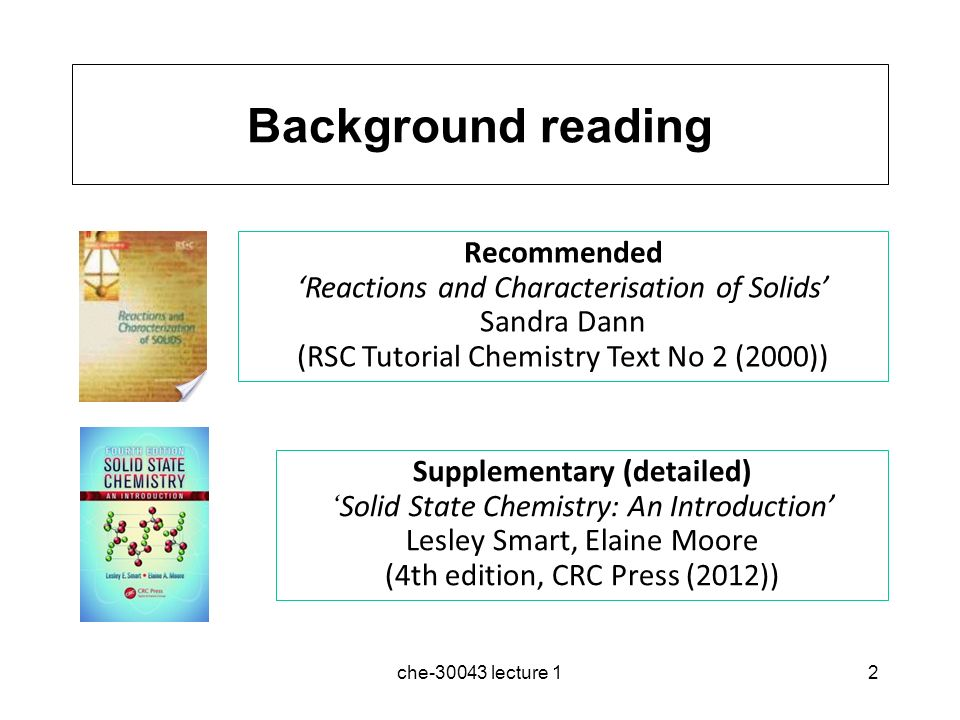 basic solid state chemistry pdf