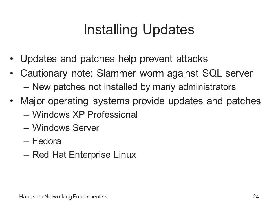 xp ip address not updating