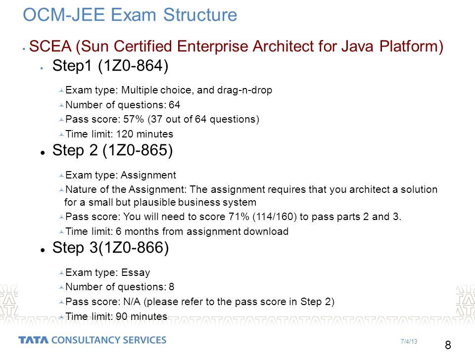 Scea essay exam questions