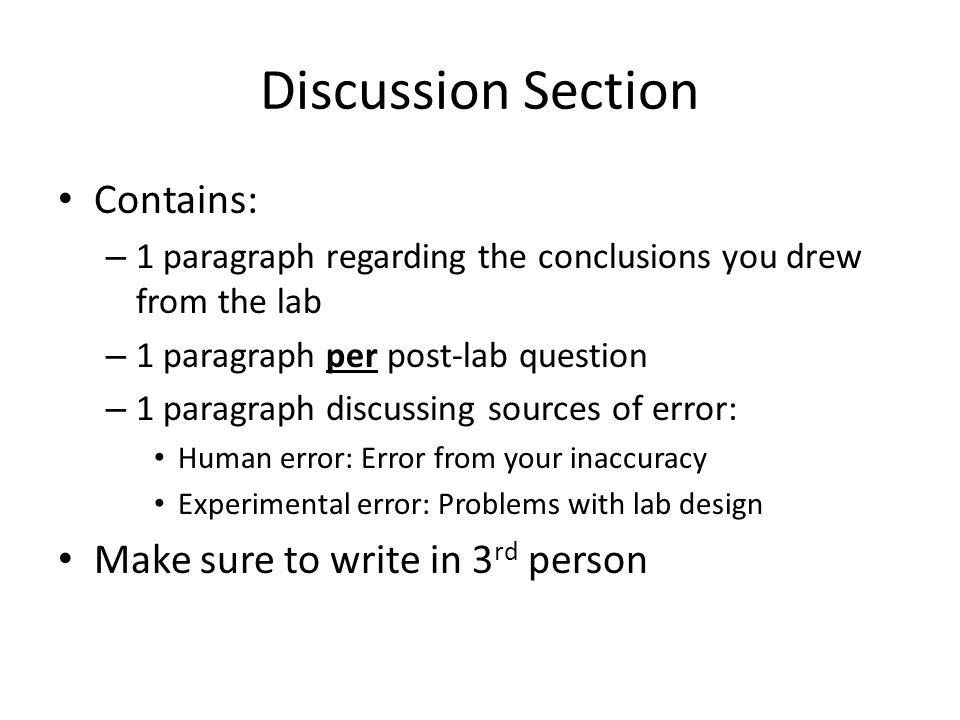 how to write in the 3rd person