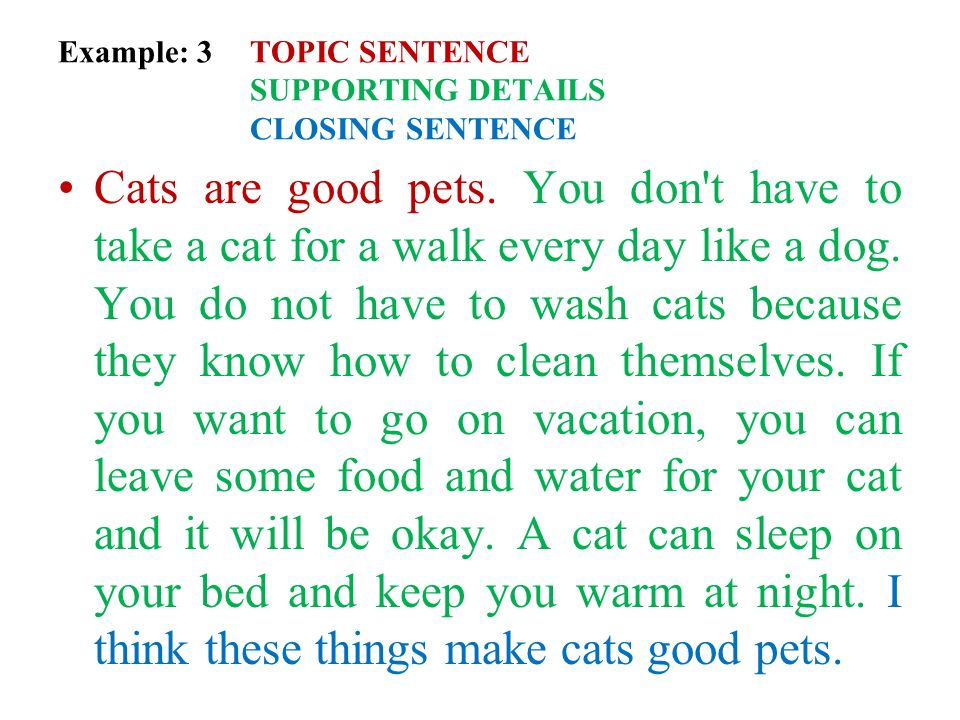 writing want and paragraph topic sentence Topic sentences are mini summaries of the paragraph to follow and,  writers  often need to use signposts, or transition sentences that also.