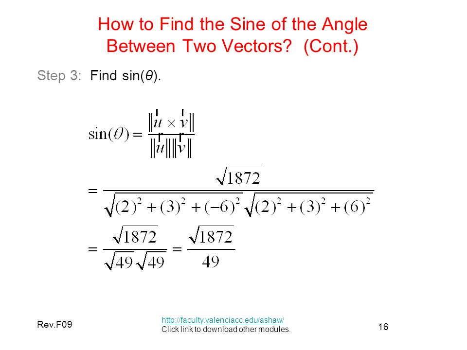 Cool how to find angle between vectors pics