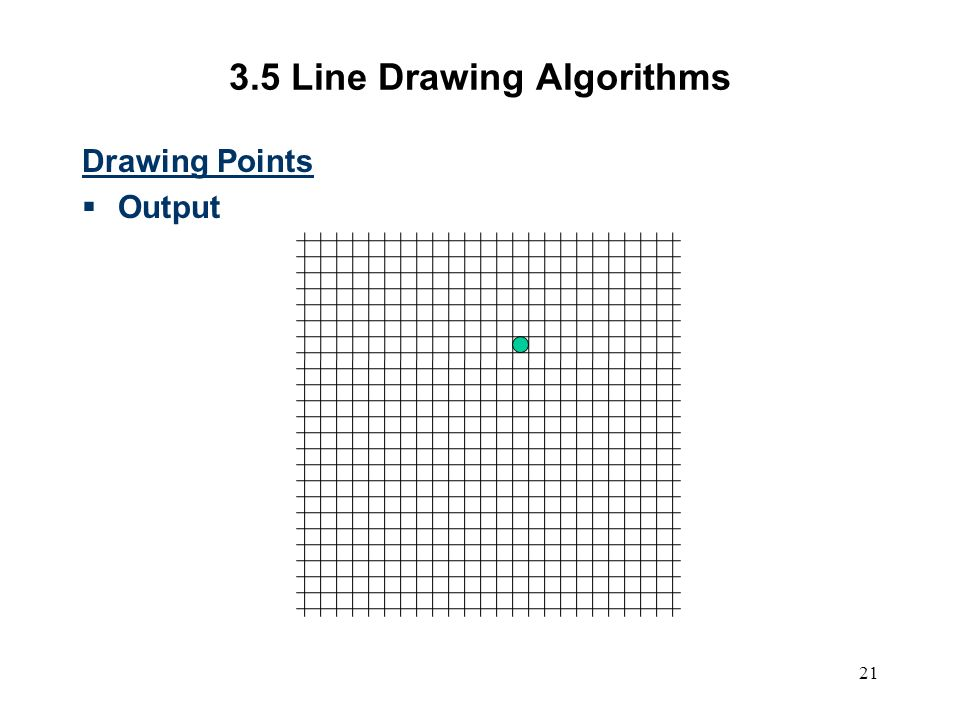 Dda Line Drawing Algorithm With Output : Computer graphics scc ppt video online download