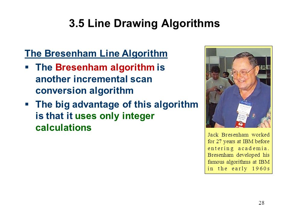 Dda Line Drawing Algorithm Problems : Computer graphics scc ppt video online download