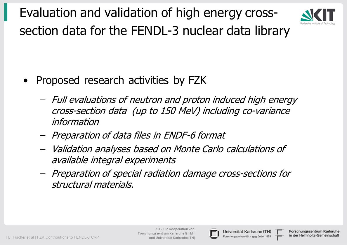 Evaluation and validation of high energy cross-section data for the FENDL-3 nuclear data library