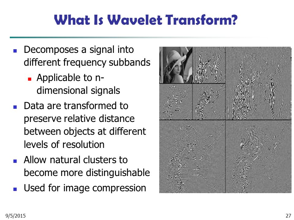 What Is Wavelet Transform