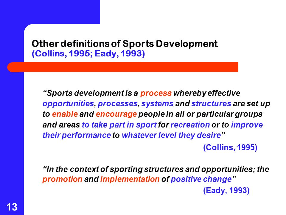 management of sport development Sustainability through sport cases have been mainstreamed in the development of envi - ronmental management systems related to event planning and staging.