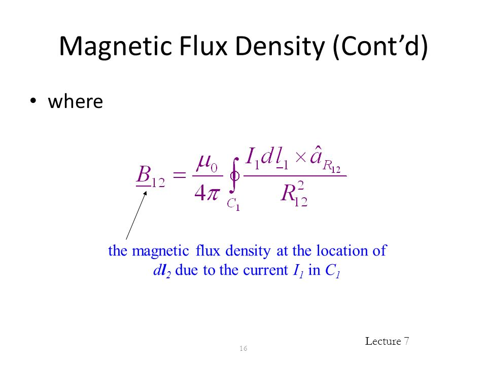 magnetic flux density - photo #4