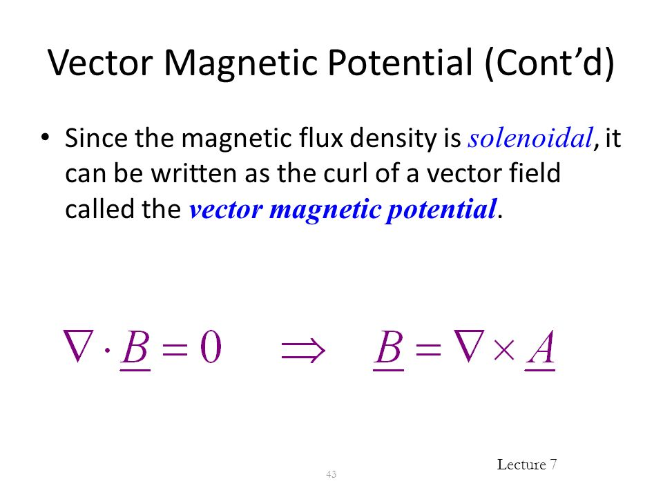eee 403 lecture 7  magnetostatics  ampere u2019s law of force  magnetic flux density  lorentz force