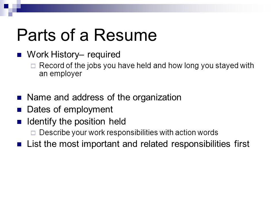 .example of research papert parts resume in order unnamed strategic